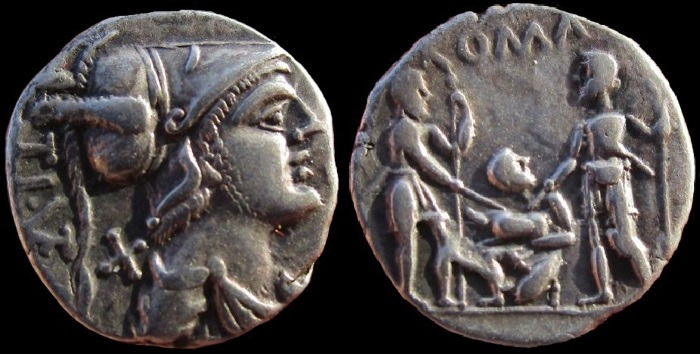 Romeinse munten: september 2018