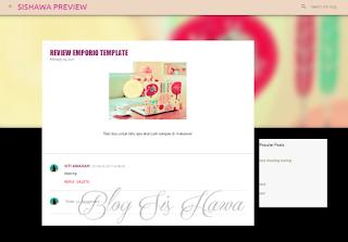 makeover template emporio dari blogspot