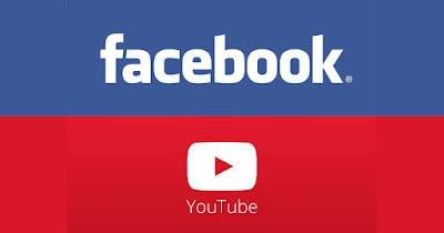 transmitir ao vivo no youtube e no facebook