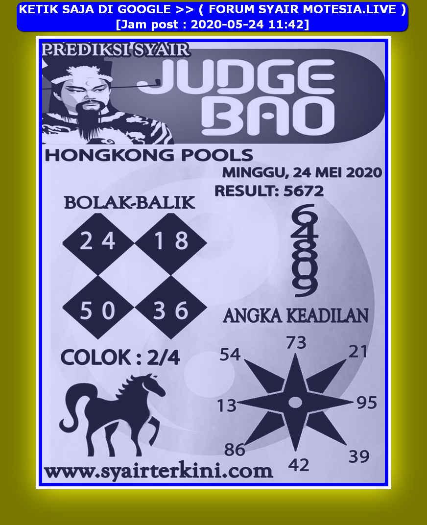 Kode syair Hongkong Minggu 24 Mei 2020 142