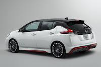 Nissan Leaf Nismo Concept (2018) Rear Side