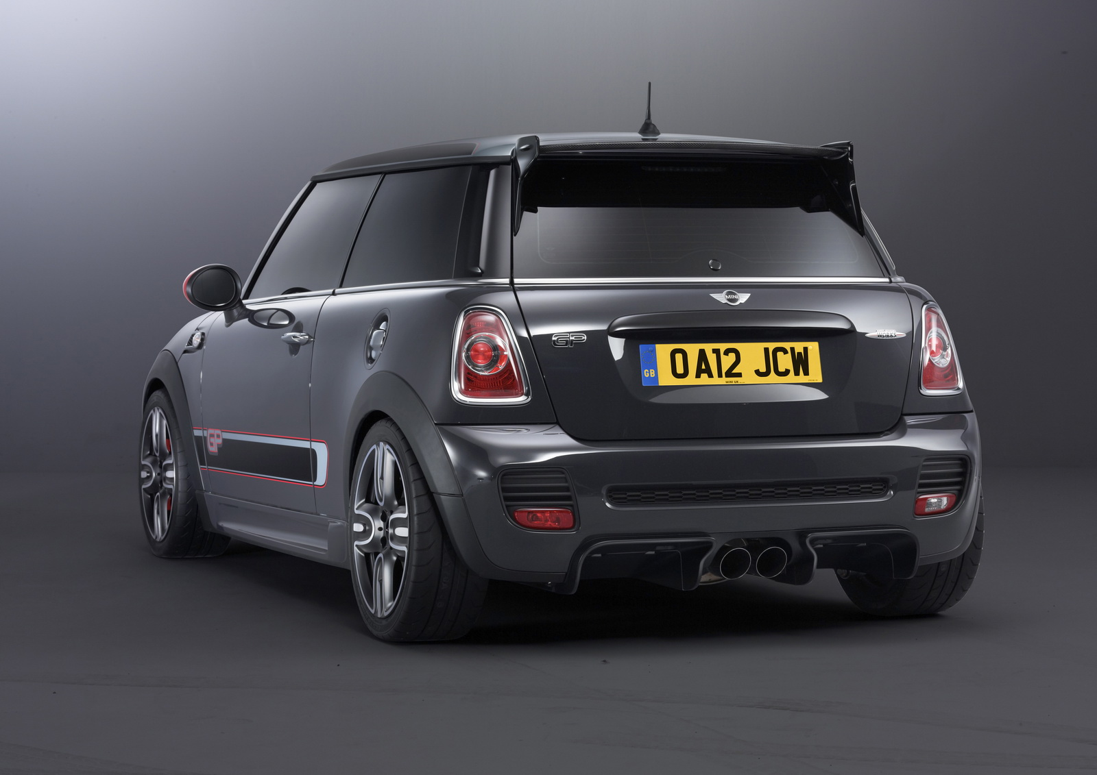 mini john cooper works gp big on performance small in number. Black Bedroom Furniture Sets. Home Design Ideas