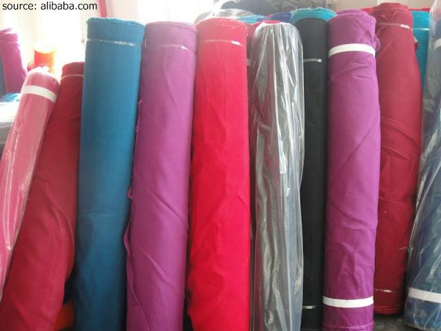 Macam-macam warna kain
