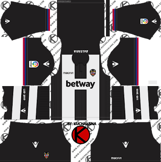 Levante UD 2018/19 Kit - Dream League Soccer Kits