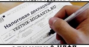 Образец декларации на получение гражданства рф