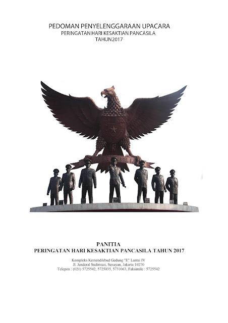 Juknis Pelaksanaan Upacara Peringatan Hari Kesaktian Pancasila Tahun 2017