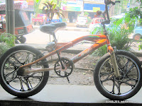 Sepeda BMX PACIFIC X-CROSS Free Style 20 Inci