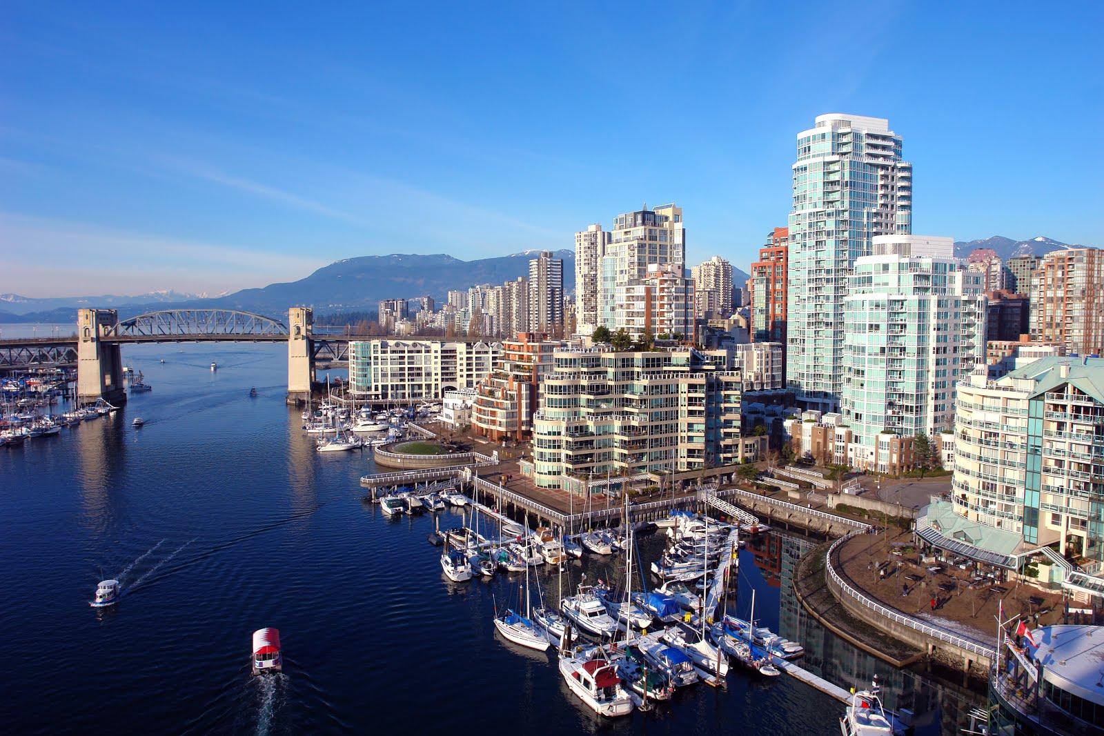 BANCO DE IMÁGENES: Ciudad De Vancouver, Canadá. (Vista