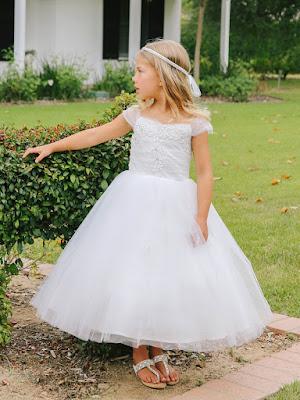 Diseños de vestidos de comunion