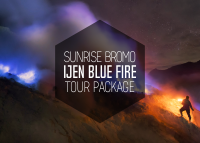 mount bromo sunrise and blue fire ijen crater tour