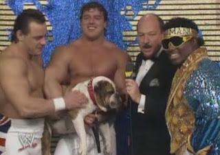WWF / WWE WRESTLEMANIA 4: The British Bulldogs, Matilda and Koko B. Ware