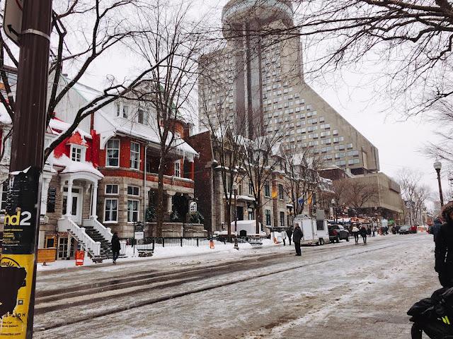 Grande Allée in Québec City, Canada