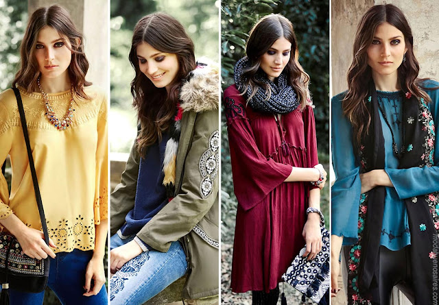 Moda invierno 2017. Ropa de moda mujer invierno 2017. Moda 2017.