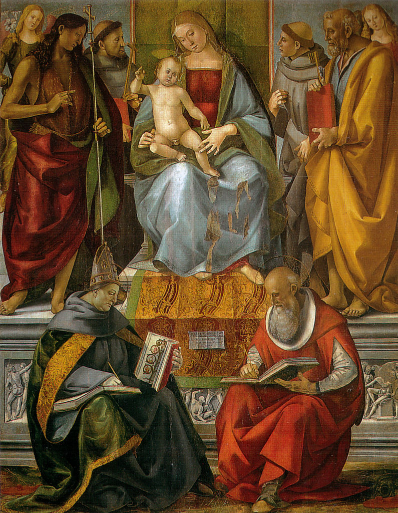 an analysis of the painting madonna enthroned with angels and saints by domenico ghirlandaio Madonna enthroned with saints giclee print by domenico ghirlandaio find art you love and shop high-quality art prints, photographs, framed artworks and posters at.