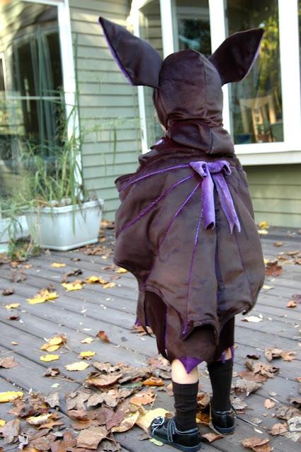 Disfraz niña murciélago