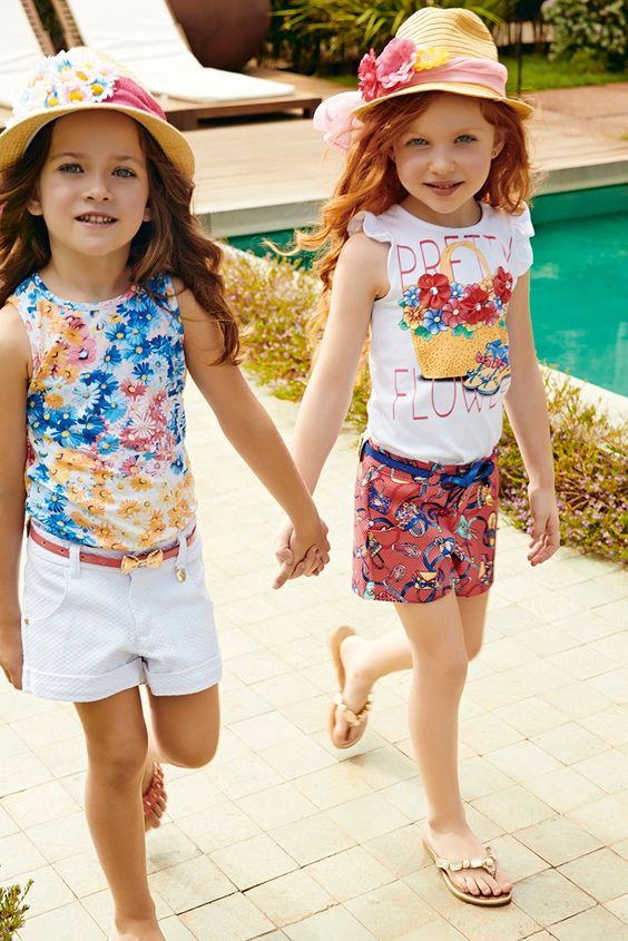 Floral Top and Short Image 6