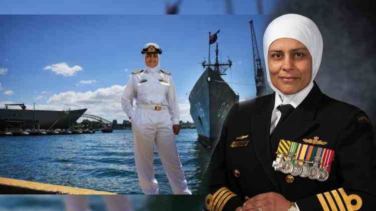 Meet Australia's First Hijabi Navy Captain