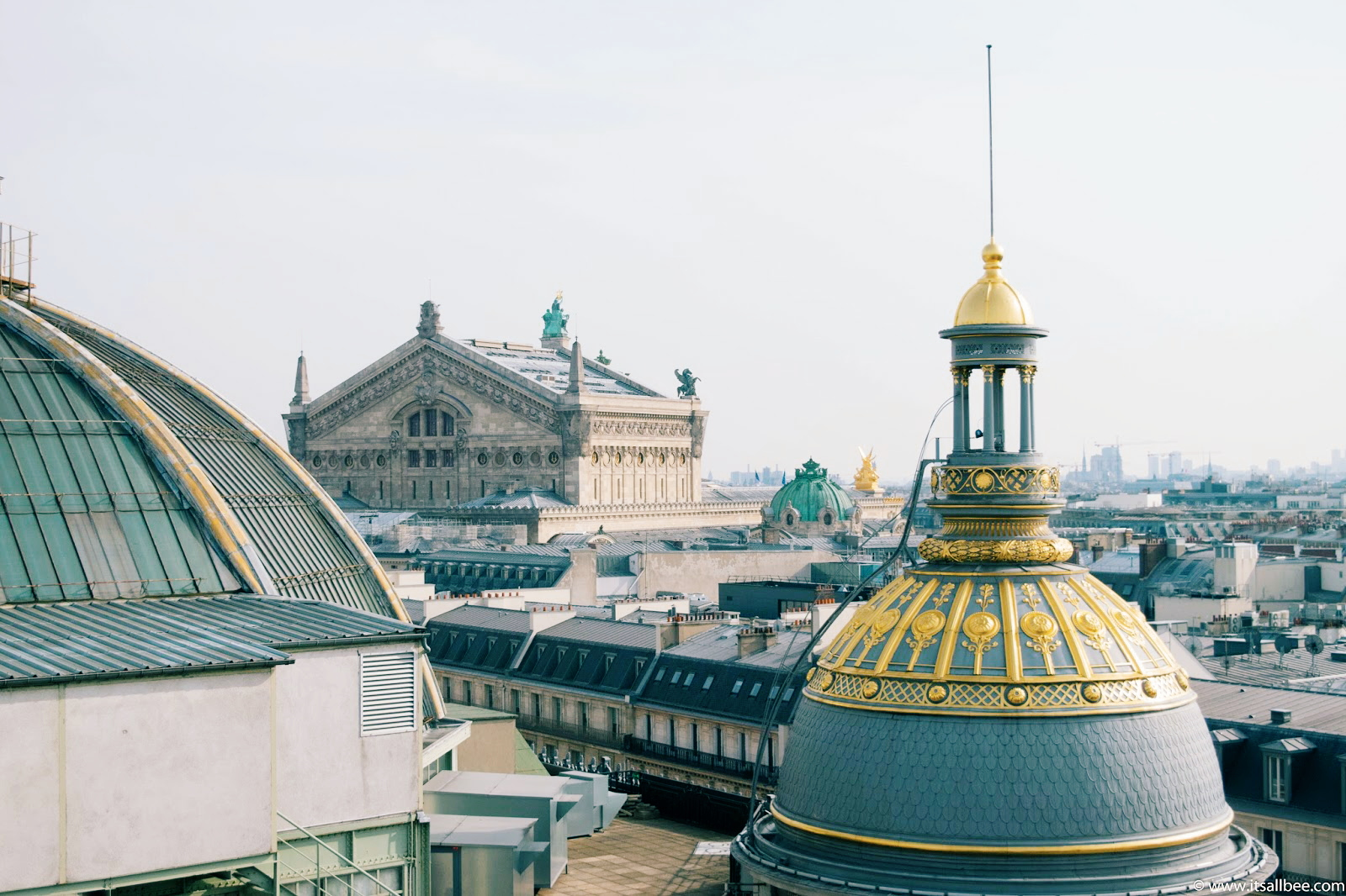 Printemps Rooftop Terrace Cafe | Best Kept Secret In Paris