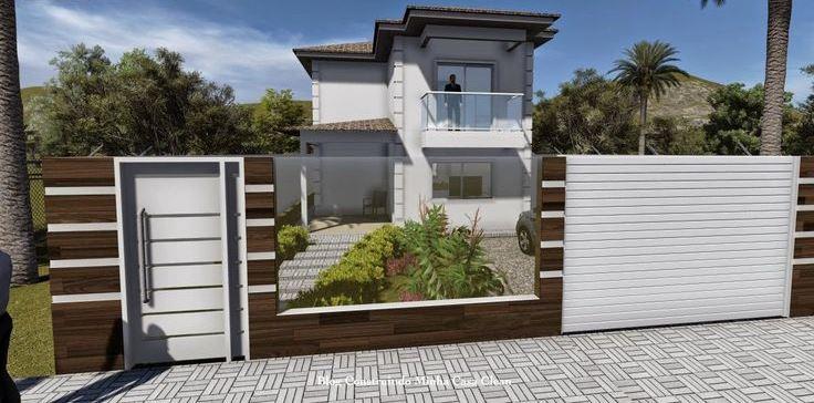 grades madeira jardim:Muros e grades residenciais – 25 inspirações modernas