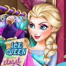 العاب تلبيس السا ملكة الجليد