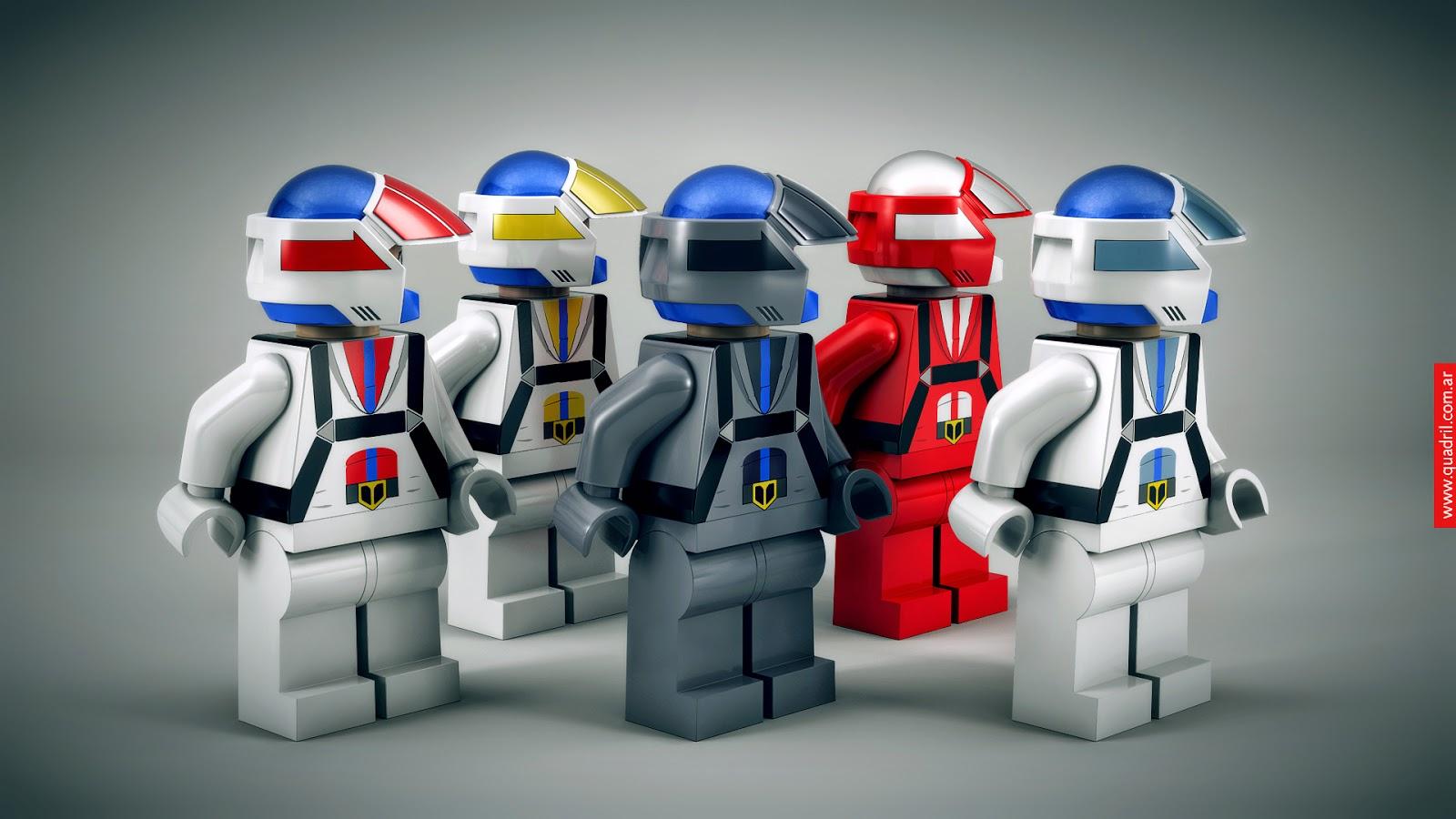 Quadril Blog: Mashup X 2 - LEGO >> ROBOTECH