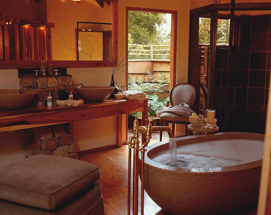 En Suite Bathroom South Africa: GARDEN ROUTE SOUTH AFRICA