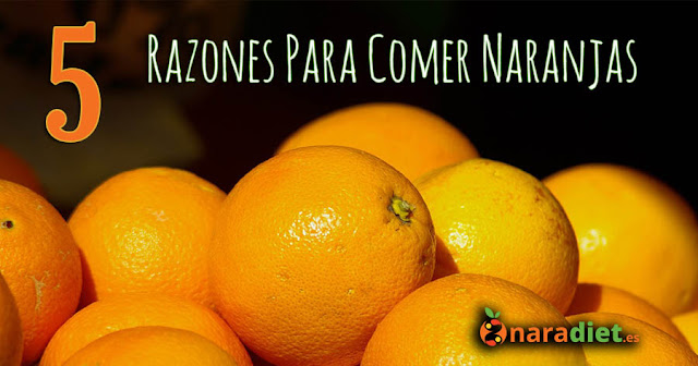 5 razones para comer naranjas