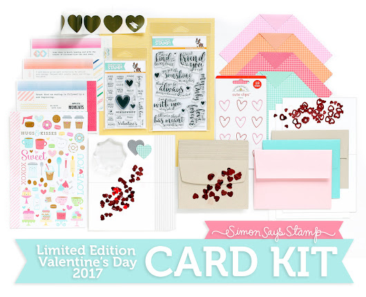 SSS Limited Edition Love You Forever Card Kit
