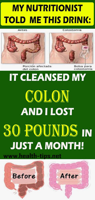 Cleanse your colon and lose 30 pounds within a month!#NATURALREMEDIES