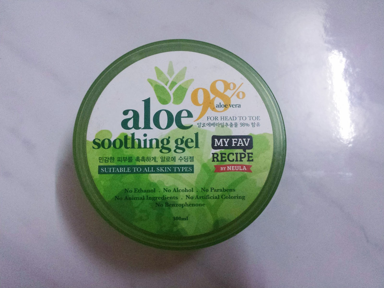 How I Use My Aloe Vera Gel | Lenne Zulkiflly