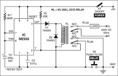 Timer 555 Circuit Diagram