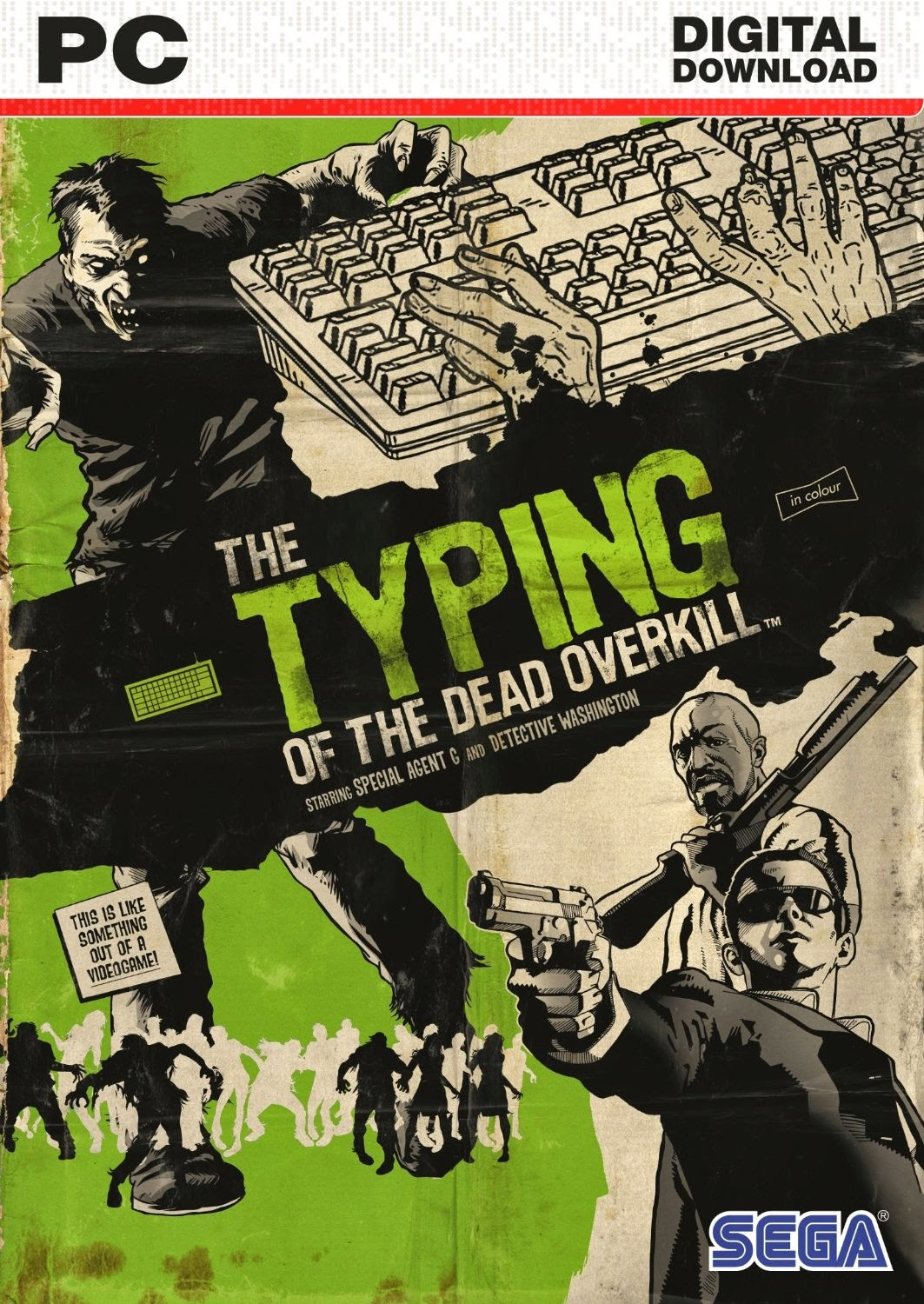 Cover Caratula The Typing Of The Dead Overkill PC