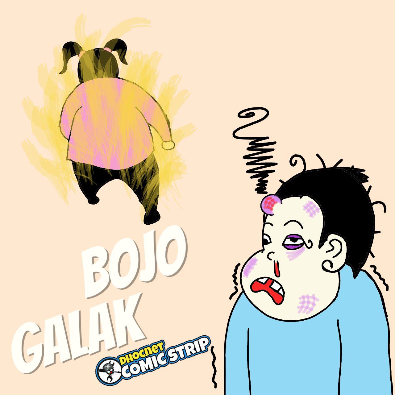 """Baca komik baris """"Bojo Galak"""" oleh @dhocnetcs"""