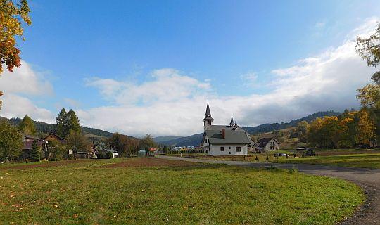 Nowy kościół w Powroźniku.