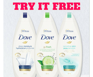 Canadian Woman Can Try Dove Body Wash Free