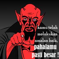 rayuan maut iblis, jebakan setan