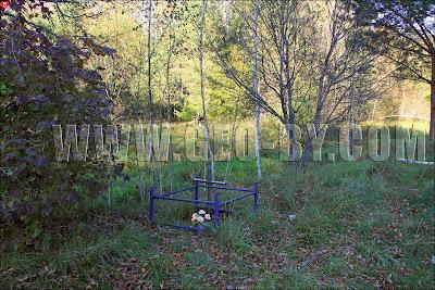 Налибокская пуща. Безымянная могила рядом с рекой Лаговка