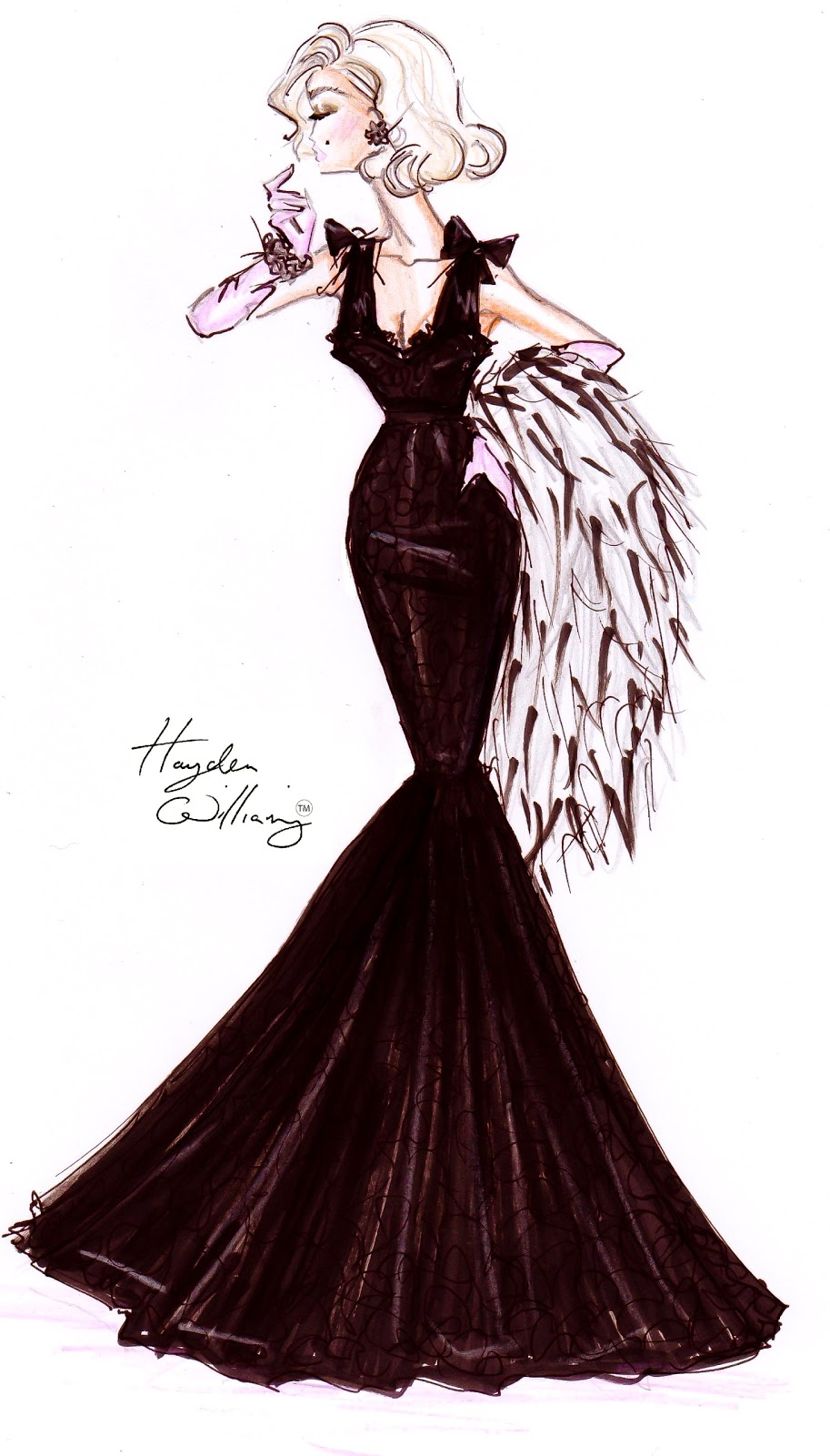 Hayden Williams Fashion Illustrations: October 2011