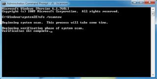 كيفية اصلاح ملفات النظام التالفه فى الويندوز بامر واحد!!