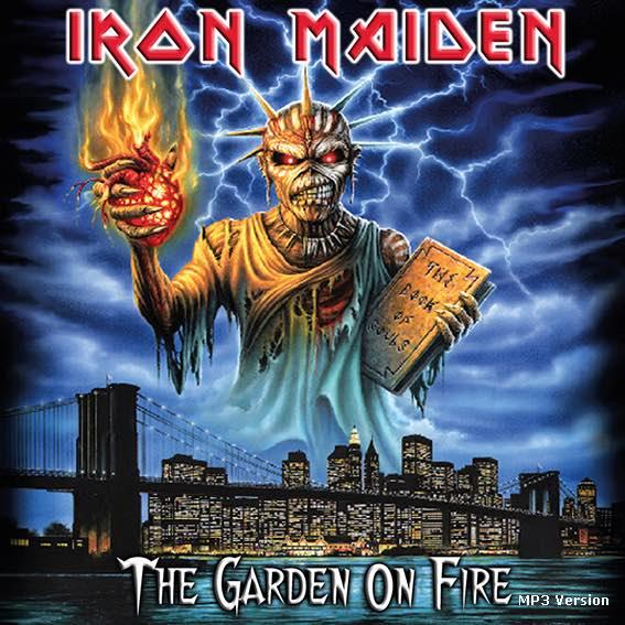Bootleg Addiction Iron Maiden The Garden On Fire