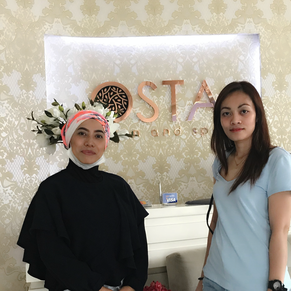 Collaboration with Osta Salon and Spa