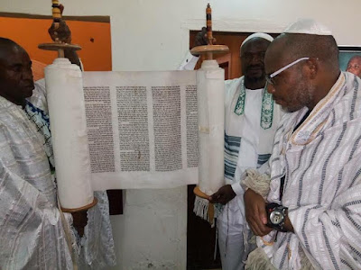 x - African Jewish priests visit IPOB leader Nnamdi Kanu