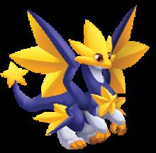 imagen del dragon super estrella de dragon city