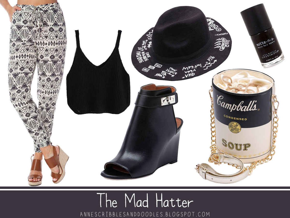 The Mad Hatter | Alice in Wonderland Character Inspired Outfits
