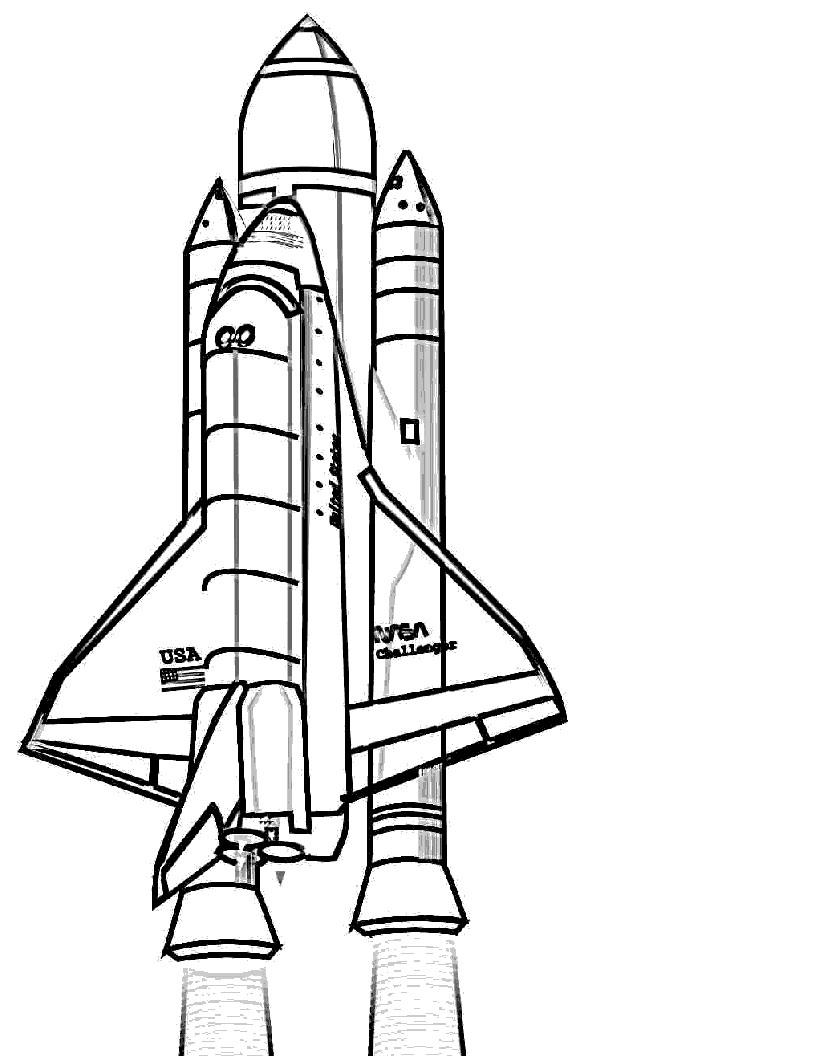 FUN & LEARN : Free worksheets for kid: ภาพระบายสี อวกาศ ...