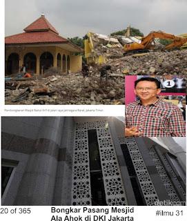 ilmu 31 Bongkar Pasang Masjid Ala Ahok di DKI Jakarta