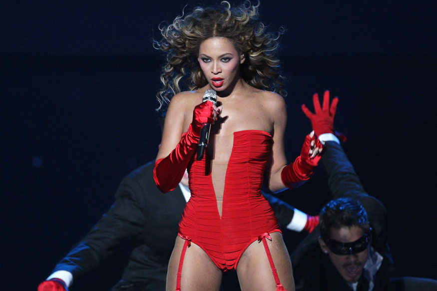 Singer Beyonce Hot Stills