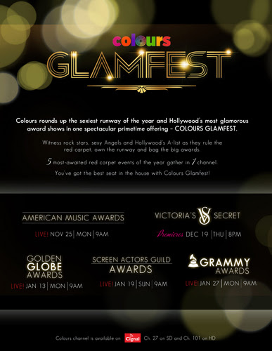 Cignal's Colours Glamfest: Victoria Secret Fashion Show, The Grammy Awards, by LivingMarjorney