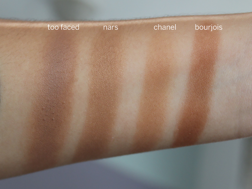 chanel soleil tan de chanel bronze universal makeup base review swatches nc30 skintone medium tan nw30