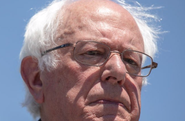 BERNIE SANDERS, CLIMATE HAWK, SPENDS NEARLY $300K ON PRIVATE JET TRAVEL IN MONTH